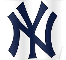 New York Yankees logo 2 Poster