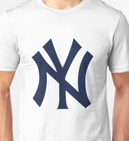 New York Yankees logo 2 Unisex T-Shirt