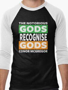 Conor Mcgregor, Gods Recognise Gods Men's Baseball ¾ T-Shirt