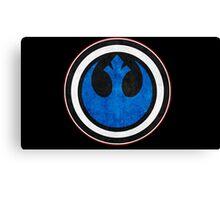 Rebel Alliance Logo Canvas Print