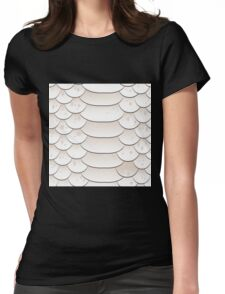Snake skin texture Womens Fitted T-Shirt