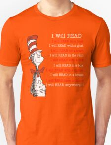 I will read - read across america day 2016 T-Shirt