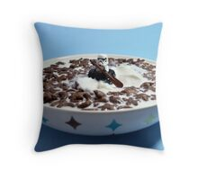 Chocolate Creek Throw Pillow