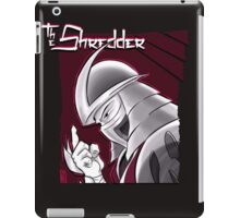 The Shredder - Ninja Master Maroon iPad Case/Skin