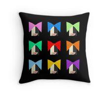 Sia (Black Background) Throw Pillow