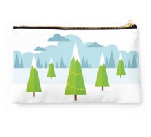 Winter Landscape Studio Pouch