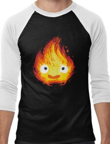 Fire Demon Men's Baseball ¾ T-Shirt