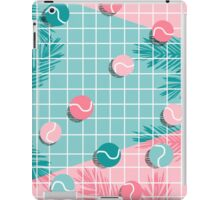 Shot Caller - memphis throwback palm springs country club tennis athlete pro sports 1980s retro city iPad Case/Skin