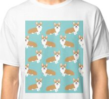 Corgi Welsh Corgi gifts cute must haves for the funny corgi puppy dog lover  Classic T-Shirt