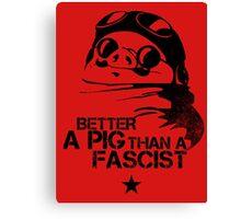 Porco Guevara Canvas Print