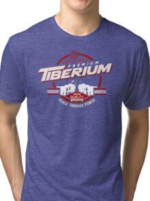 NOD Red - Tiberium Tri-blend T-Shirt
