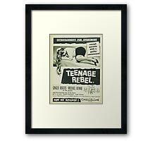 Teenage rebel - movie Framed Print
