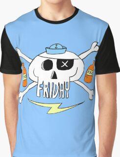 Friday pirate skull Graphic T-Shirt