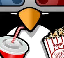 Movie Film Cinema Popcorn Sticker