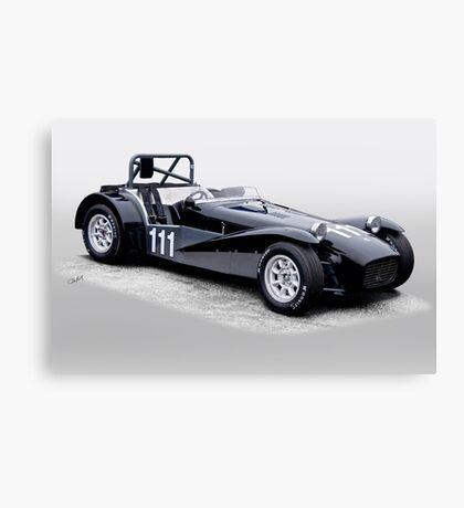 1962 Lotus Super 7 Vintage Racecar Canvas Print