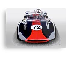 1963 Genie Mk 5 Vintage Racecar I Metal Print
