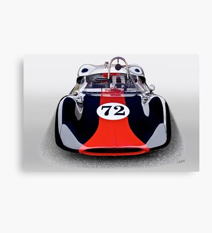1963 Genie Mk 5 Vintage Racecar I Canvas Print