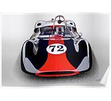 1963 Genie Mk 5 Vintage Racecar I Poster