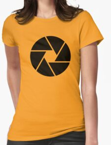 Photographer Photography Lens Womens Fitted T-Shirt