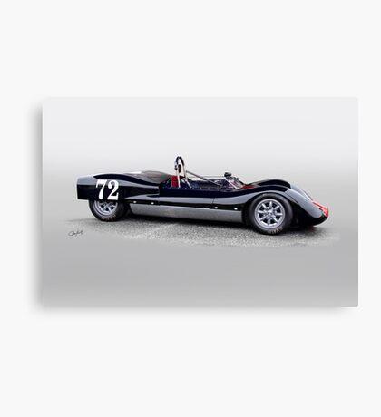 1963 Genie Mk 3 Vintage Racecar II Canvas Print