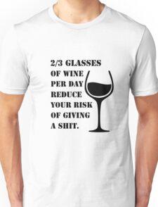 WINE IS GOOD  Unisex T-Shirt