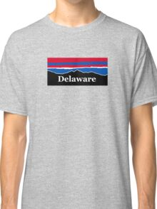 Delaware Red White and Blue Classic T-Shirt