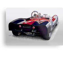 1963 Genie Mk 5 Vintage Racecar III Metal Print
