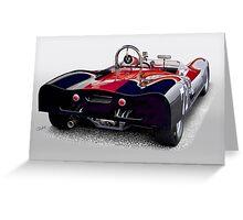 1963 Genie Mk 5 Vintage Racecar III Greeting Card