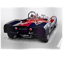1963 Genie Mk 5 Vintage Racecar III Poster