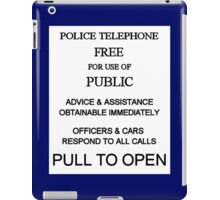 Pull To Open iPad Case/Skin