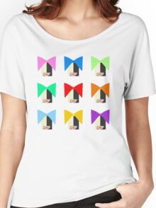 Sia (White Background) Women's Relaxed Fit T-Shirt