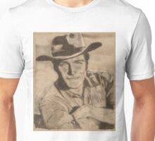 Clint Eastwood Hollywood Icon by John Springfield Unisex T-Shirt