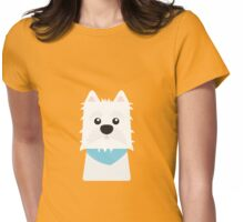 White West Highlad Terrier Womens Fitted T-Shirt