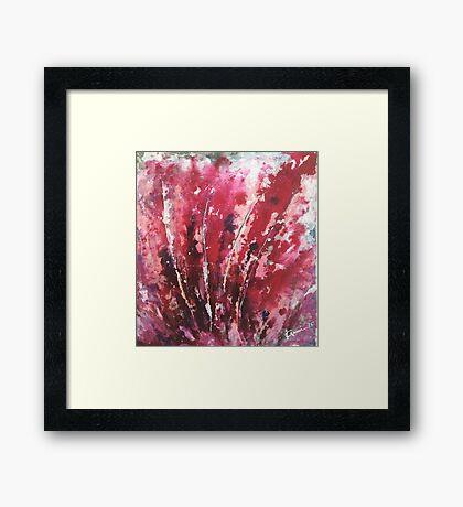 Passion I By Kenn. Framed Print