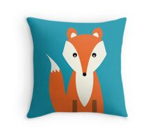 Fox by Natalie Kinnear Designs Throw Pillow