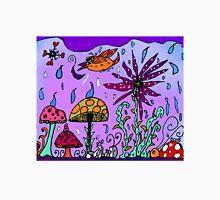 Mushrooms Grow When It Rains in Mo's Garden Unisex T-Shirt