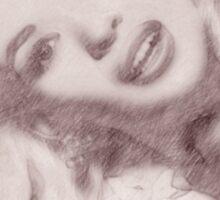 Jayne Mansfield by John Springfield Sticker