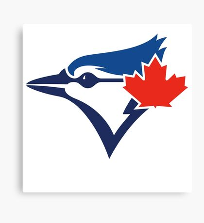 Toronto Blue Jays TEAM LOGO Canvas Print