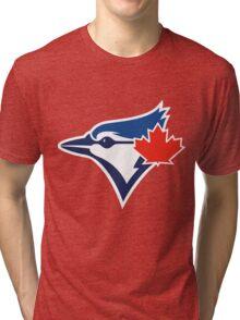 Toronto Blue Jays TEAM LOGO Tri-blend T-Shirt