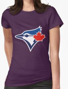 Toronto Blue Jays TEAM LOGO Womens Fitted T-Shirt