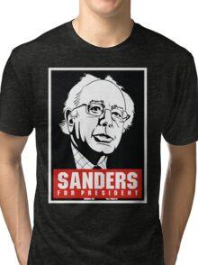 Bernie for president Tri-blend T-Shirt