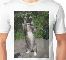 Dancing cat Unisex T-Shirt