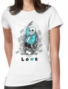 Sans-Undertale Womens Fitted T-Shirt