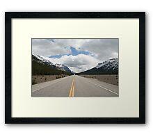 Icefields Parkway, Alberta, Canada Framed Print