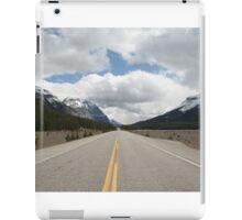 Icefields Parkway, Alberta, Canada iPad Case/Skin