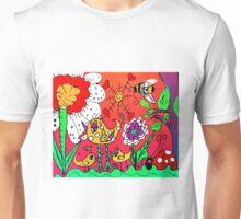 A Beautiul Day in Mo's Garden Unisex T-Shirt