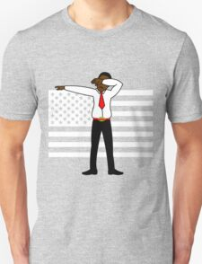 Martin Luther King Jr DAB Clothing (BLACK HISTORY MONTH) RED T-Shirt