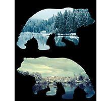 Revenant 3: Black Photographic Print