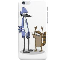 Rigby and Mordecai iPhone Case/Skin