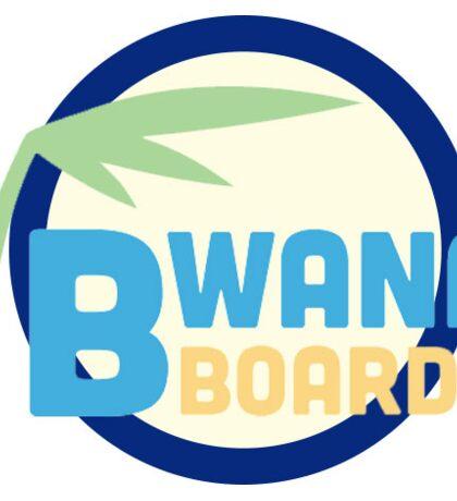 OG bwanaboard logo Sticker